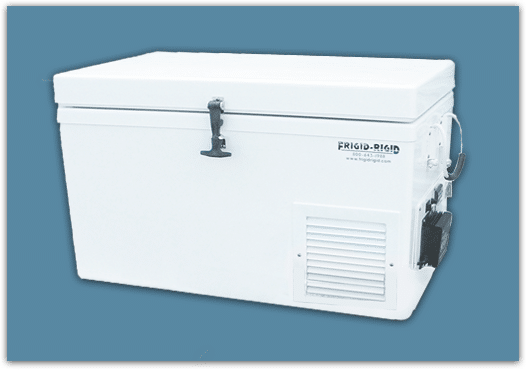 Frigid Rigid Solar Refrigerator Freezer
