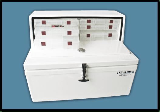Frigid Rigid Tackle Center Cooler